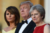 メイ英首相に新たな打撃=トランプ米大統領、EU離脱で警告