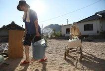 インフラ復旧進む=連休ボランティア続々-死者205人、猛暑続く・西日本豪雨