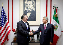 メキシコと関係改善に意欲=米国務長官、次期大統領らと会談
