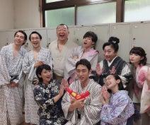 岸明日香、小泉孝太郎や松下由樹らと『ゼロ係』オフショットを公開