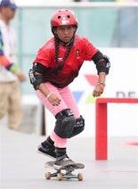 五輪夢見る9歳スケーター=アジア大会