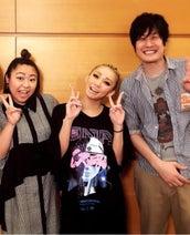 やしろ優、倖田來未ライブで楽屋に挨拶「いつになっても緊張します笑笑」