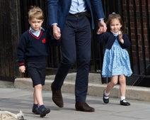 ジョージ王子とシャーロット王女のお気に入りは、あの脚の長い虫!