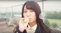 大原優乃の「大好き」連呼にメロメロ 「スーパーカップMAX」の広告キャラクターに
