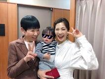 安田美沙子、和田アキ子との楽屋3ショットを公開「優しいあっこさん素敵」の声