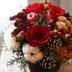 お花で彩るクリスマス!期間限定のクリスマスアレンジを『お花の定期便』Bloomee LIFEでGET♡