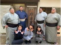 もえあず『爆食三姉妹』で相撲部屋のちゃんこ鍋大食い対決「楽しいロケでした」
