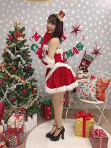 SKE48・惣田紗莉渚、ミニスカサンタ姿を披露「色っぽい」「かわいすぎてやばい」の声