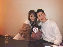 近藤千尋、夫・ジャンポケ太田と娘の3ショットを公開「一泊でも岡山に来てくれて嬉しかった」