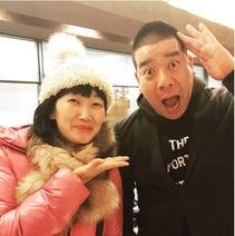 たんぽぽ川村、相方の夫・チェリー吉武に遭遇「新婚の幸せな方に偶然会えて嬉しい」