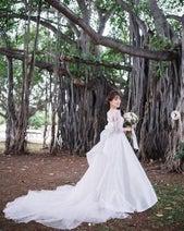 「絶世の美女」三上真奈アナ純白のウェディングドレス姿でファンを魅了!
