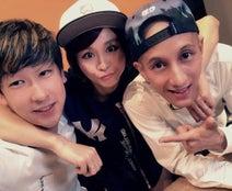 Nosuke、妻・misonoと人気YouTuberとの3ショット公開「素敵な出会いに高まりました」