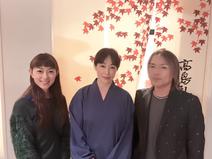 石黒彩、夫婦で高島礼子との3ショットを公開「いつも仲良くしていただいている」