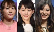 綾瀬はるか、北川景子、新垣結衣がトップ3 「転勤しても不安を感じない理想のパートナー」