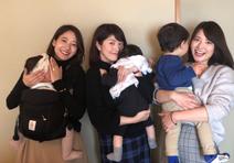 森麻季、子どもを抱えた吉田明世&小熊美香と集合ショット「とても ...