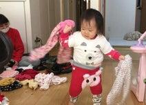 """森渉、娘がモコモコに""""着ぶくれ""""した姿を公開「上下合わせて13枚くらいかな笑」"""