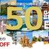 大韓航空、創立50周年で運賃5%オフ 50日間路線は日替わり