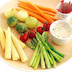 手作りバーニャカウダでおもてなし! 見た目もカワイイ「ミニ野菜のオードブル」