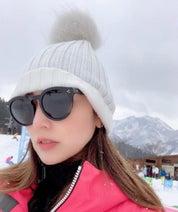 矢田亜希子、友人家族らとスキー旅行を満喫「雪景色を眺めながらゆっくり」