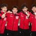 日本男子、史上初の優勝=フェンシングW杯エペ