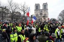 ノートルダム高額寄付に怒り=反政府デモ激化も-フランス