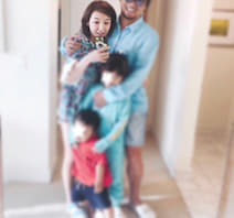 """加護亜依、家族4人での""""なかなかいい写真""""を公開「幸せそう」「ステキ!」の声"""
