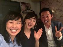 東尾理子、北島康介氏と初対面「楽しい楽しい時間を過ごせました」