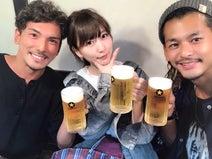 元あいのり・桃&嵐&ヒデが緊急飲み会「みんな相変わらず人生楽しそう」