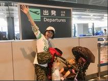 森渉、妻・金田朋子が娘を連れてハワイへ出発「こんなに心配な気持ちになるとは」