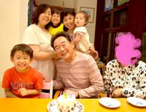東尾理子、子ども達と父・修氏の誕生日ケーキを作るも「大失敗」