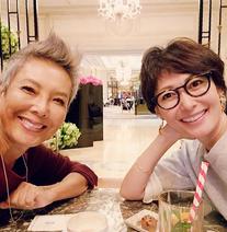池畑慎之介、田丸麻紀とパリで再会「最高に気分上がりますねぇ(笑)」