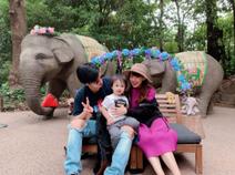 川崎希、家族でズーラシアを満喫「最高の場所」