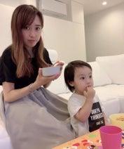 川崎希、息子にご飯を作るも全然食べてもらえず「やっぱり料理って難しいな~涙」