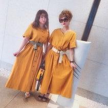 新垣里沙、姉妹おそろいコーデを公開「可愛い服を着るとテンションあがりますねっ」