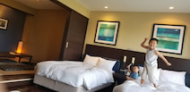 小原正子&マック鈴木、家族と1泊で温泉旅行へ「あ~~  癒されたー」