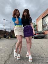 SKE48・須田亜香里、エステで準備した美脚を披露「公開処刑覚悟で一緒に撮ってもらったよ」
