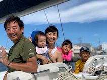 東尾理子、夫・石田純一ら家族でヨット釣りを満喫「日常を忘れて解放された」