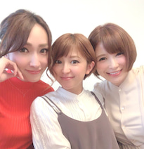 矢口真里、息子に会いに来た手島優・ゆしんと3ショット「やっとご対面~~!!!!」