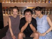 友利新、有田哲平・西川史子との3ショットを公開「たしかに2人には交際疑惑があった!」