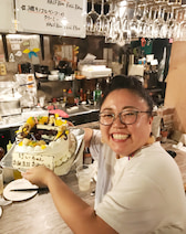 """ニッチェ・江上、""""凄い""""誕生日ケーキを公開「凄い鮮やかで、めっちゃ可愛い」"""