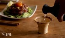 天然素材食器ブランド「RIVERET」より、日本酒をさらに楽しむためのおちょこ3種が登場
