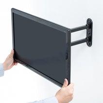 サンワサプライ、壁面に取り付られるモニターアーム2製品を発売