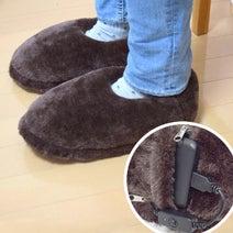 サンコー、USB給電でつま先からかかとまで温まる2種のヒーター内蔵スリッパを発売