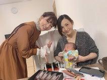 あいのり・桃、はあちゅう氏の赤ちゃんと初対面し感激「ちっちゃーーー!!」
