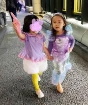 東尾理子、仮装した子ども達と食事へ「お腹も心も満たされました」