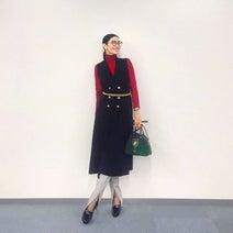 アンミカ、秋のZARAコーデを披露「そのままブーツを合わせても可愛い」