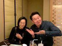 花田虎上、母・藤田紀子を誘い食事へ お茶目な姿に「母は笑ってしまいました」
