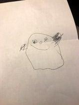 ニッチェ・江上、男の子が描いた似顔絵を公開「特徴をとらえてて上手」「似てますね~」の声