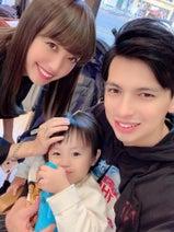 川崎希、家族で美容室へ行きカットとカラー「すごくサラサラ」