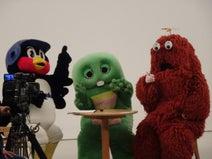 つば九郎、ガチャピン&ムックと5週連続で共演「どうへんしゅうしたのか、きになりますね~」